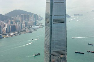 The Hong Kong Ritz Carlton boasts the highest pool in the world